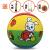 子供のバスケドボール3号ボール子供の幼稚園3番ボール5番ラケット7番ラケットと小さなボール5号の子猫を撮ります。